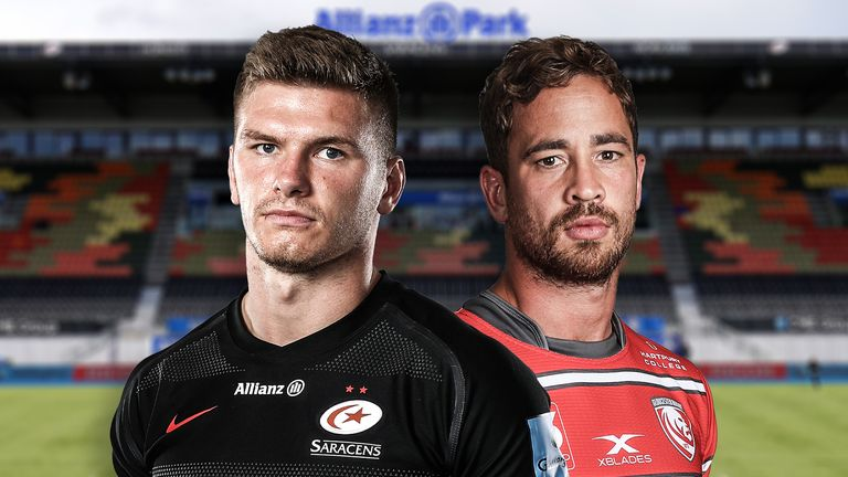 Saracens' Owen Farrell and Gloucester's Danny Cipriani go head-to-head in the Premiership semi-finals this Saturday