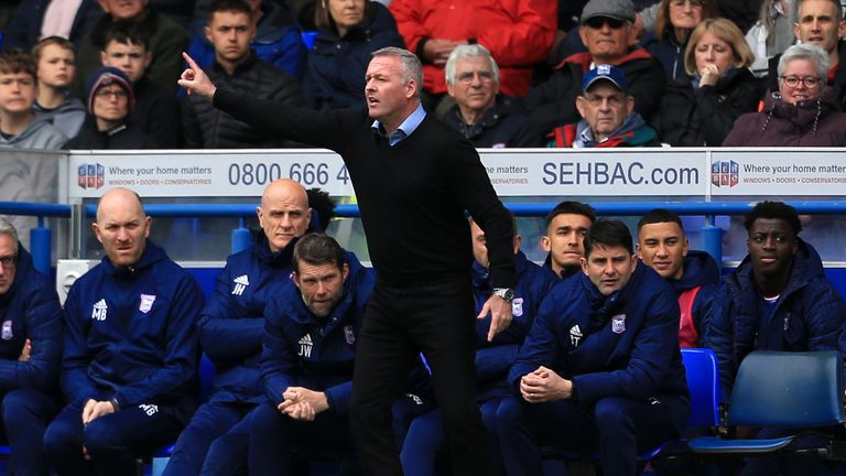 Ipswich boss Paul Lambert was delighted with his team's display