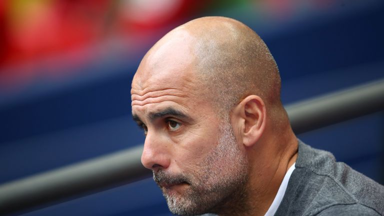 Pep Guardiola is contracted to Manchester City until the end of the 2020/21 season