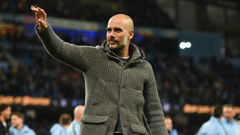 Pep Guardiola has led Man City to back-to-back Premier League titles