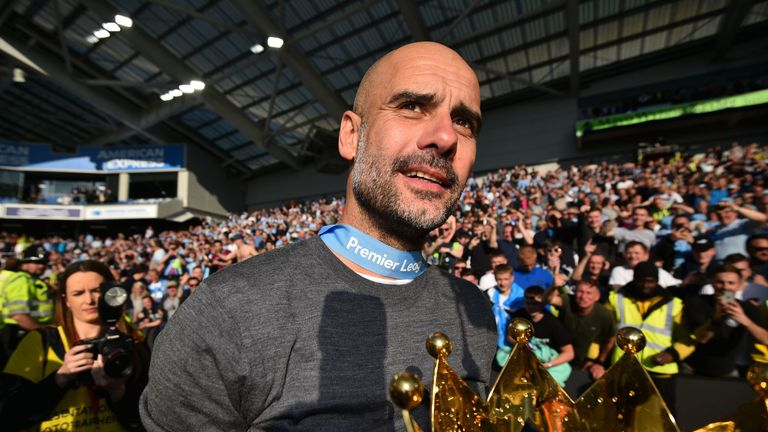 Guardiola can now rank alongside Arsene Wenger, Jose Mourinho and Sir Alex Ferguson when it comes to the greatest Premier League managers, says Neville