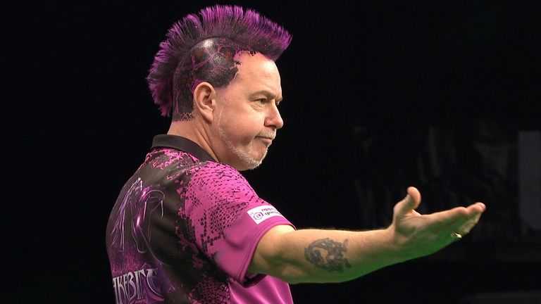 Peter Wright won the German title
