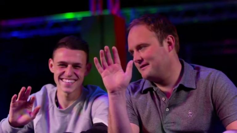 Foden spoke to Soccer AM's Tubes