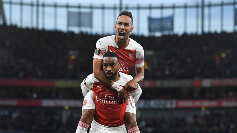 Alexandre Lacazette and Pierre-Emerick Aubameyang have been in fine form for Arsenal - but an over-reliance on the pair has cost them