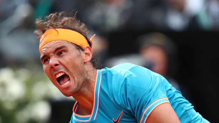 Rafael Nadal defeats Stefanos Tsitsipas to reach Italian Open final  | Tennis News |