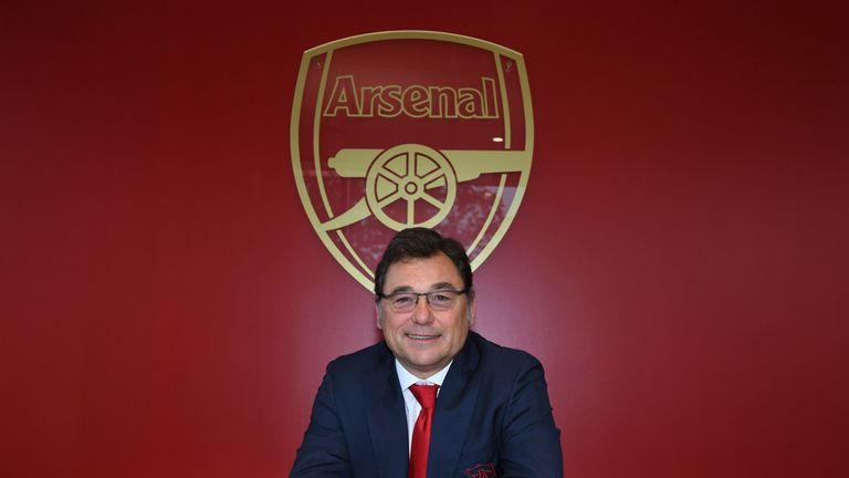 Raul Sanllehi believes Arsenal are capable of attracting a high calibre of player