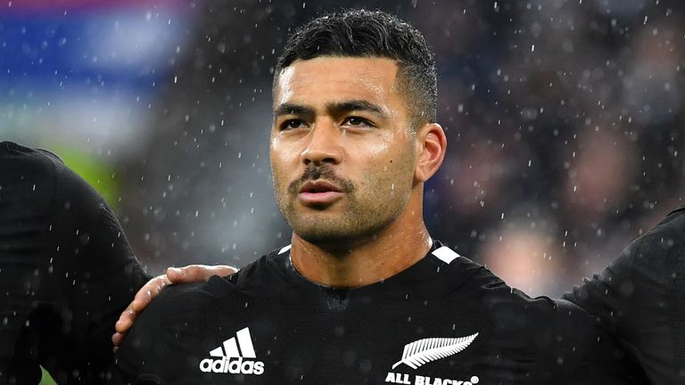 Richie Mo'unga has played nine Tests for the All Blacks