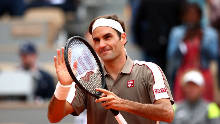 Roger Federer enjoyed a winning return to Roland Garros after three years away