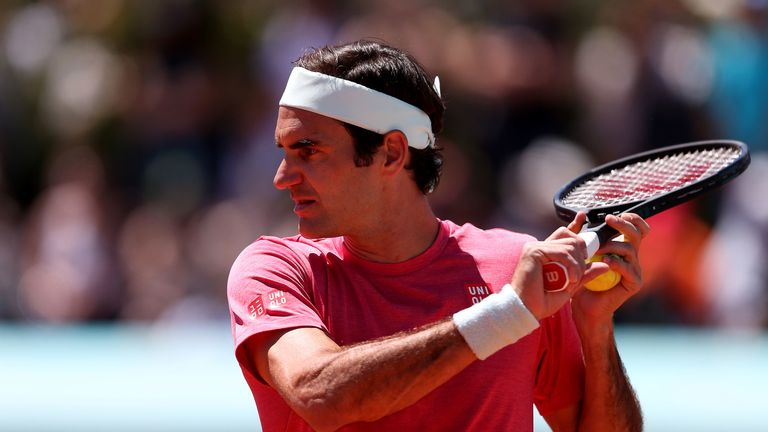 Federer is the fourth seed at the Caja Magica
