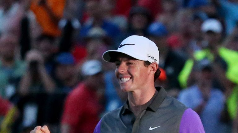 Rory McIlroy won the 96th PGA Championship at Valhalla in 2014