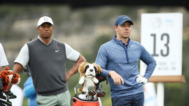 Woods and McIlroy are both playing in the Zozo Championship later in the week