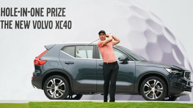 Ross Fisher made a strong start to the Volvo China Open