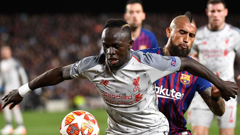 Mane will be rejoined by his teammates Mo Salah and Roberto Firmino who missed the dramatic second leg against Barcelona