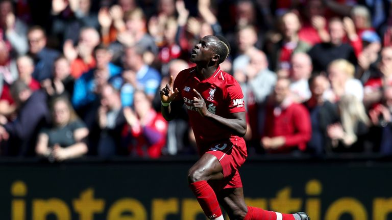 Mane opened the scoring for Wolves to briefly put Liverpool top of the table