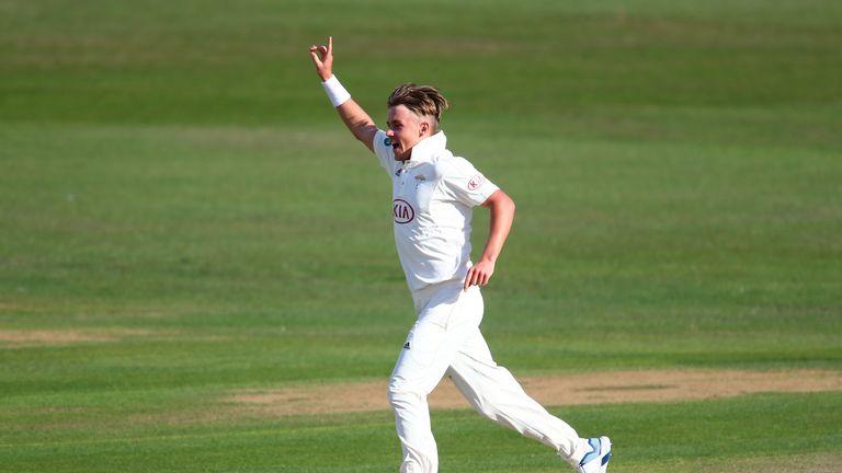 Sam Curran took three wickets for Surrey at Beckenham