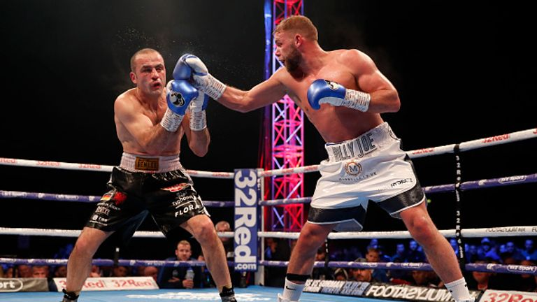 Saunders dominated Shefat Isufi to win the WBO crown in May