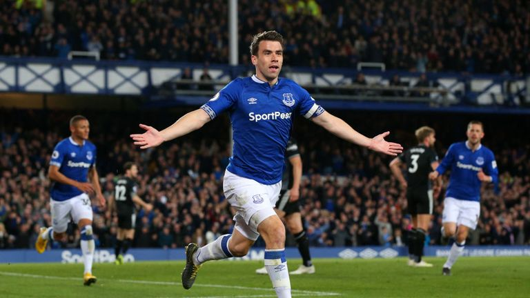 Seamus Coleman's header was his second goal of the season