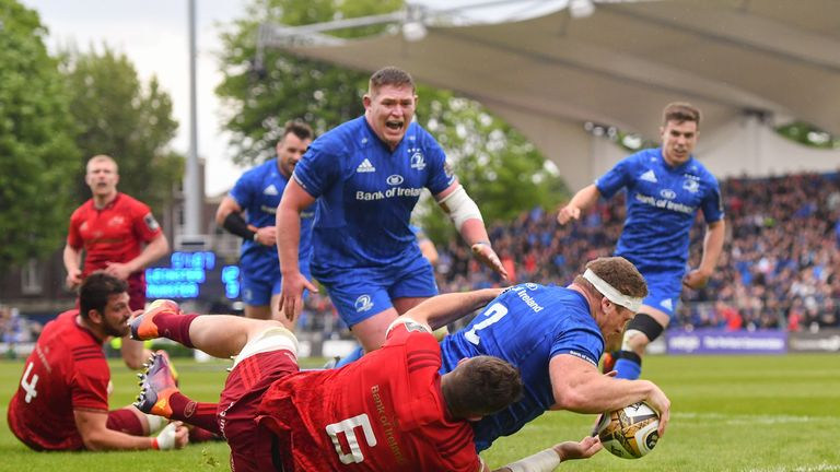 Sean Cronin's crucial 54th minute try swung the game Leinster's direction