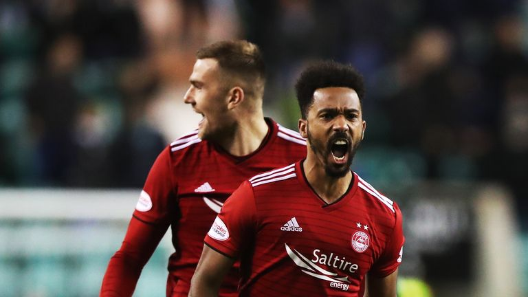 Shay Logan has made the SPFL Team of The Year for three seasons in a row