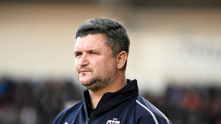 First team coach Simon Bassey has resigned from AFC Wimbledon