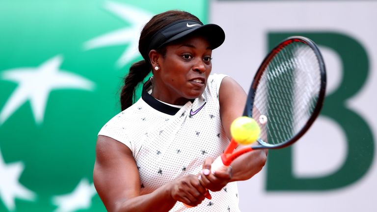 Sloane Stephens will also be among the headliners of the event