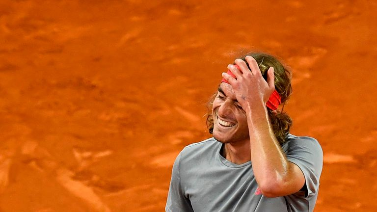 Tsitsipas stunned Nadal in Madrid earlier this month