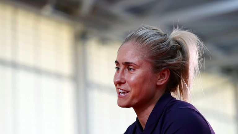Steph Houghton says England are heading to the World Cup with the intention of winning it