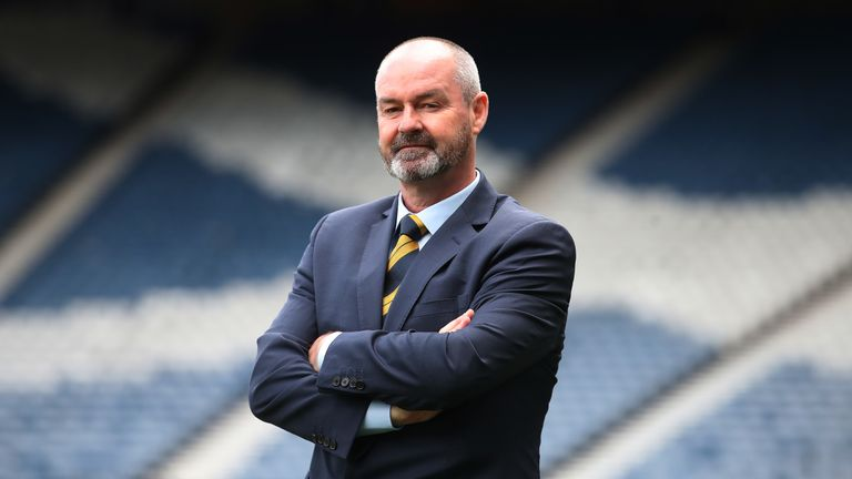 Steve Clarke has named his first Scotland squad Euro 2020 double-header
