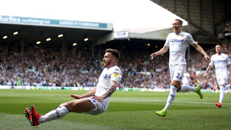 Stuart Dallas put Leeds ahead on the night