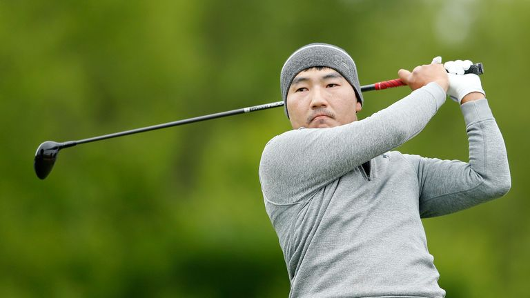 Sung Kang stormed into a four-shot lead