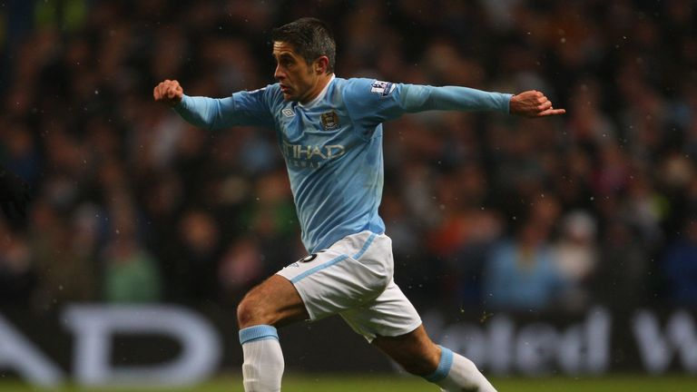 Sylvinho spent the 2009/10 season at Manchester City, returning to the Premier League eight years after his two-year spell at Arsenal