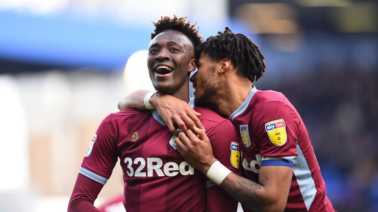 Tammy Abraham and Tyrone Mings have been a huge influence at Villa Park