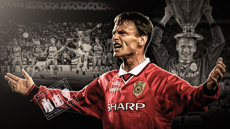 032a33e04 Manchester United s 1998 99 treble  How Teddy Sheringham s frustration  turned to joy