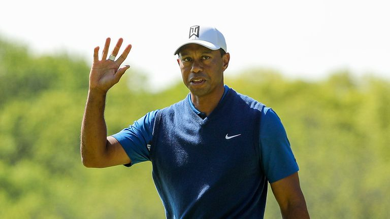 Woods is chasing a record-equalling fifth PGA Championship victory
