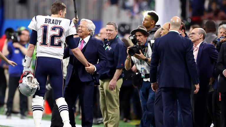 Kraft and superstar quarterback Tom Brady have enjoyed many recent successes