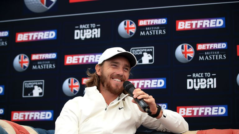 Fleetwood is the highest-ranked player in action this week
