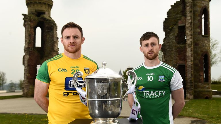 Donegal open against Fermanagh, in a repeat of last year's final