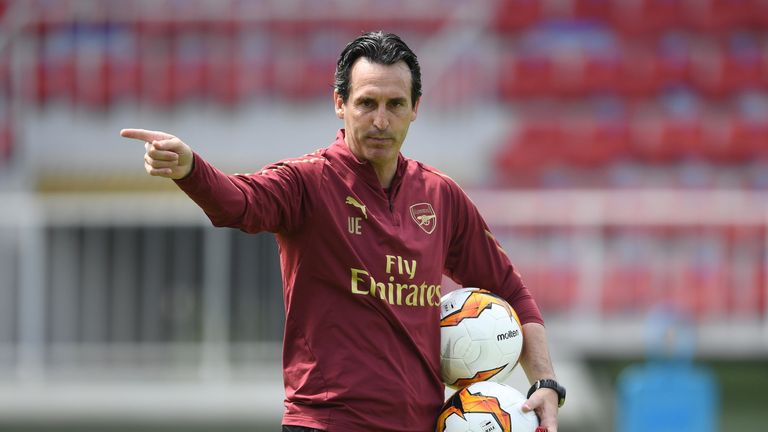 Unai Emery has some selection headaches ahead of the Europa League final