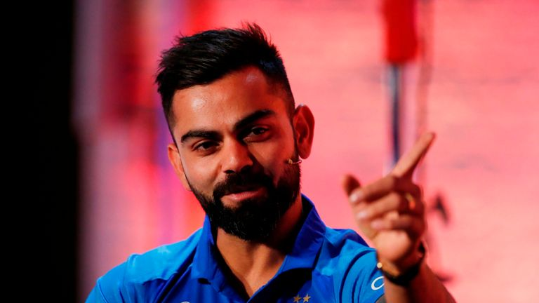 Virat Kohli is top of both the Test and ODI batting rankings