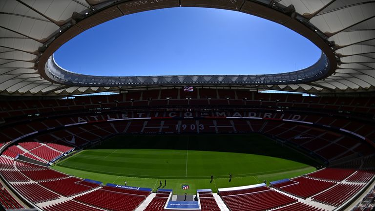 Tickets for the final at the Wanda Metropolitano stadium are at a premium
