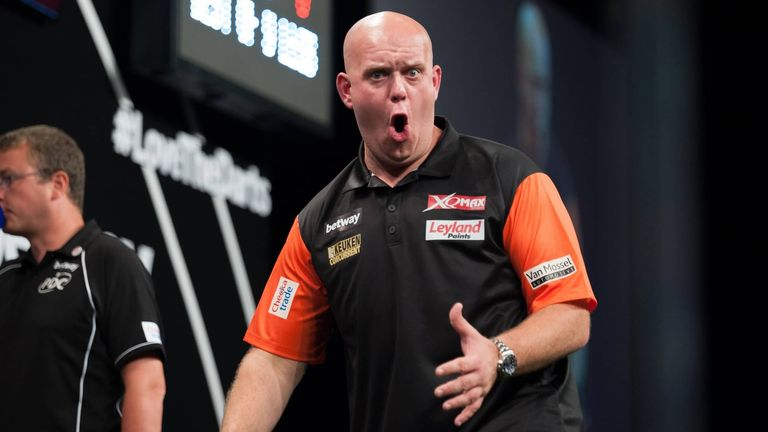 Van Gerwen will be hoping to lift his fourth World Cup title in June