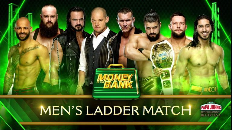Former world champions Randy Orton and Finn Balor are among the SmackDown selections for the men's Money In The Bank ladder match