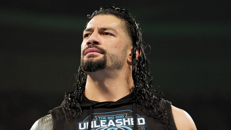 Roman Reigns has Shinsuke Nakamura and his Intercontinental title in his sights