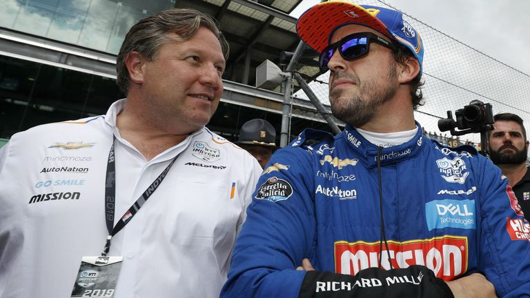 Zak Brown has admitted that McLaren let Fernando Alonso down at the Indy 500