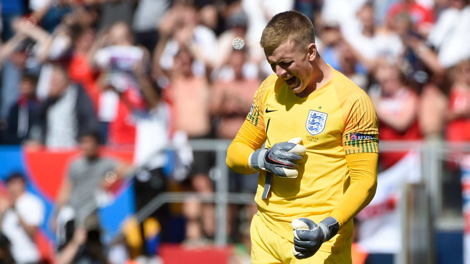 England Goalkeeper Jordan Pickford Says He Has Learnt From