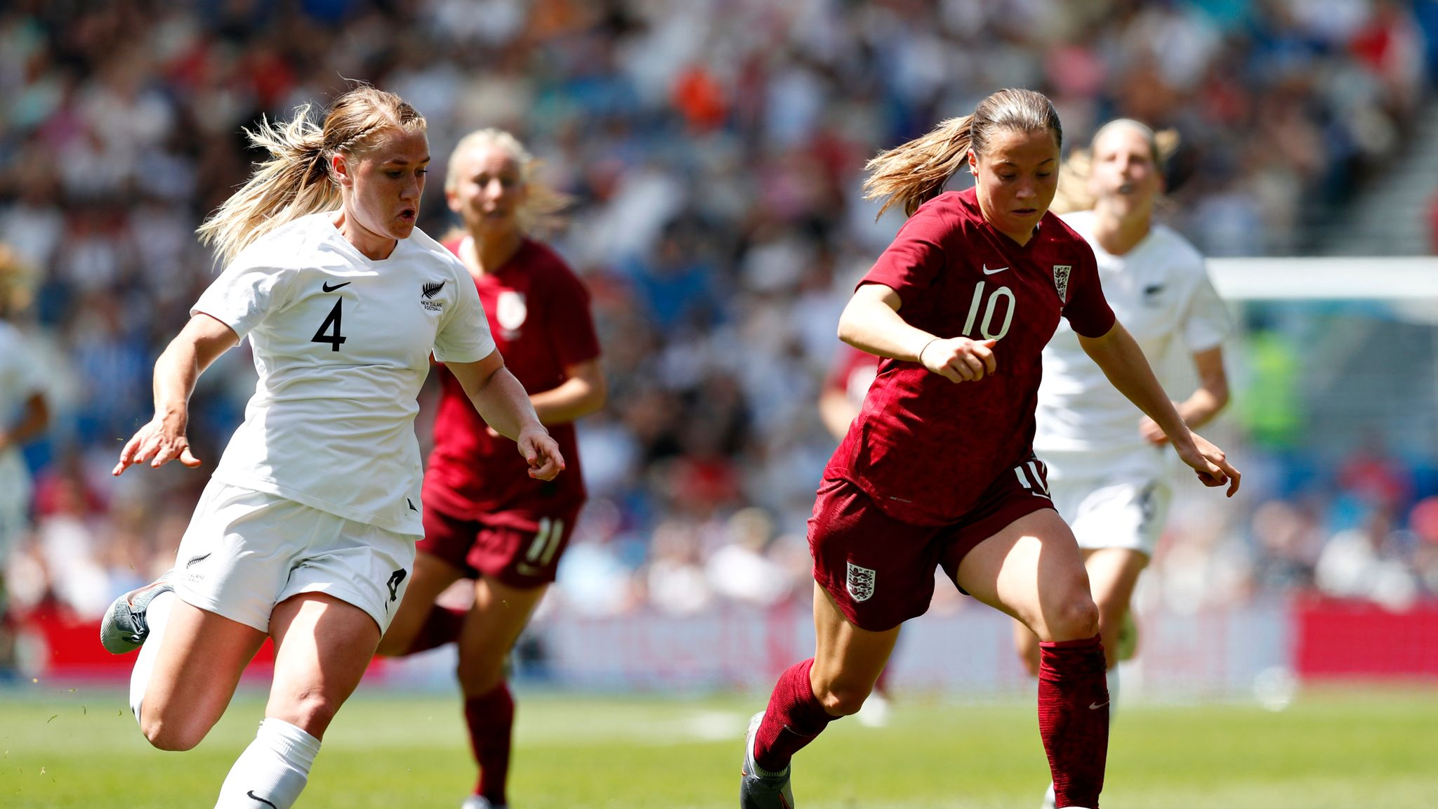 Jordan Nobbs recalled to England Women squad to face Brazil and Portugal