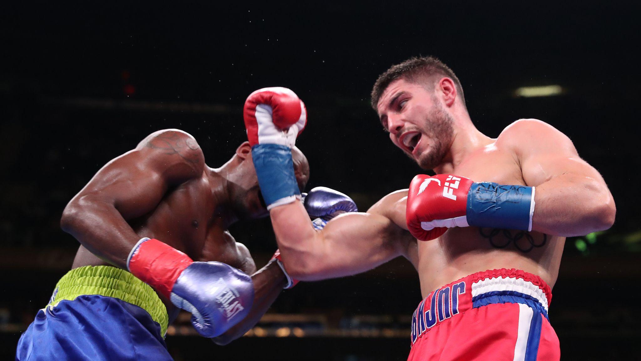 Joshua vs Ruiz Jr: Josh Kelly and Ray Robinson draw in New York