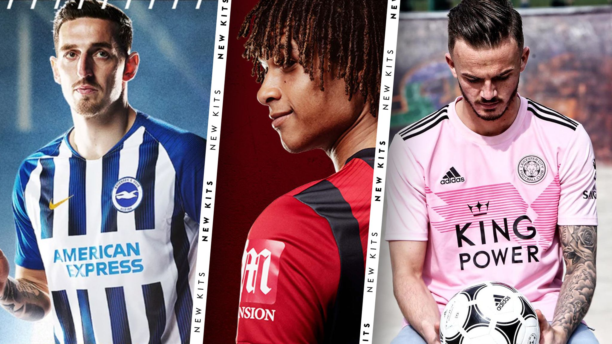 new products d5427 8f366 New Premier League kits for the 2019/20 season | Football ...