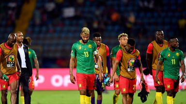 Champions Cameroon were left with only a point from their second game of this year's Africa Cup of Nations
