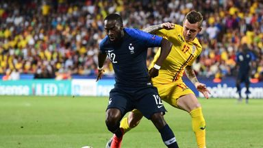 France played out a 0-0 draw with Romania